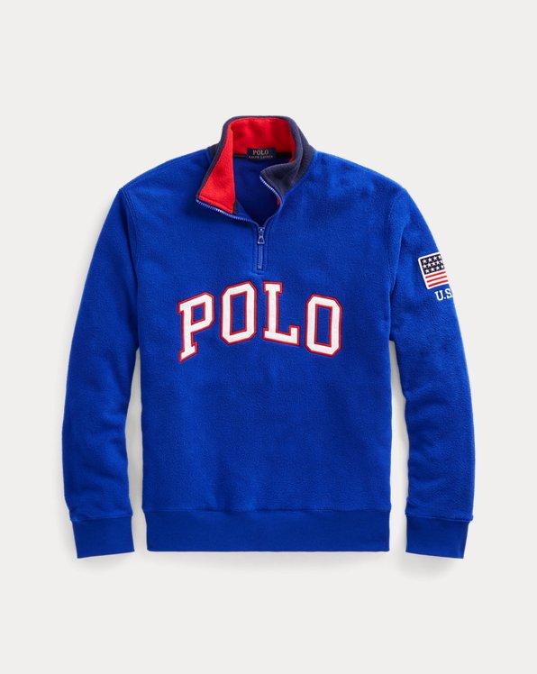 Polo Half-Zip Sweatshirt