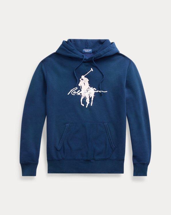 Fleece-KapuzenshirtmitPink Pony