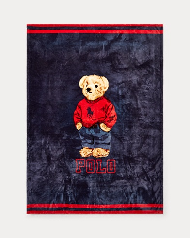 Sweatshirt Bear Throw Blanket