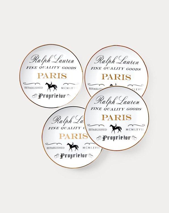 Paris Canape Plate Set