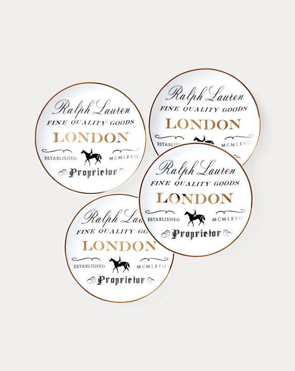 Assiettes pour canapés London