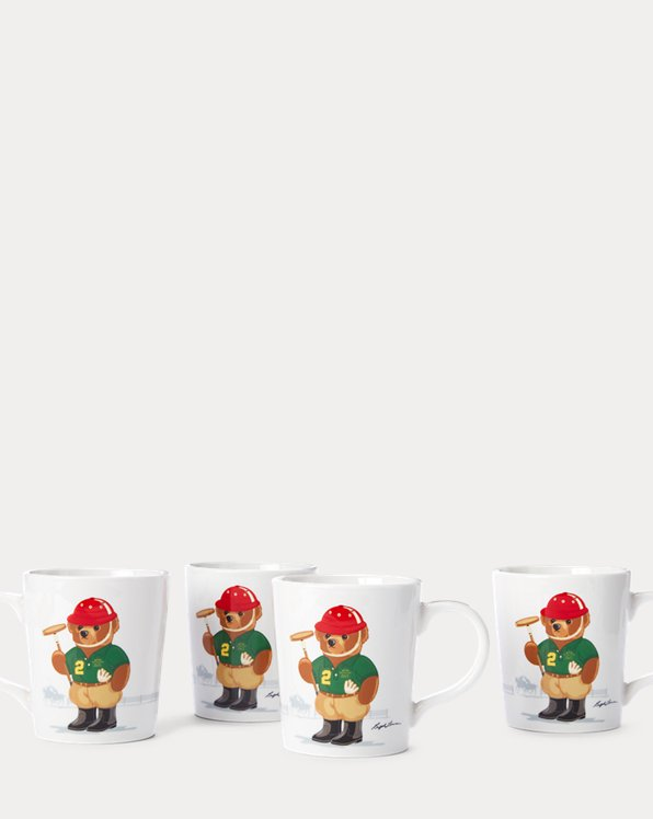 Haven Polo Bear Mugs