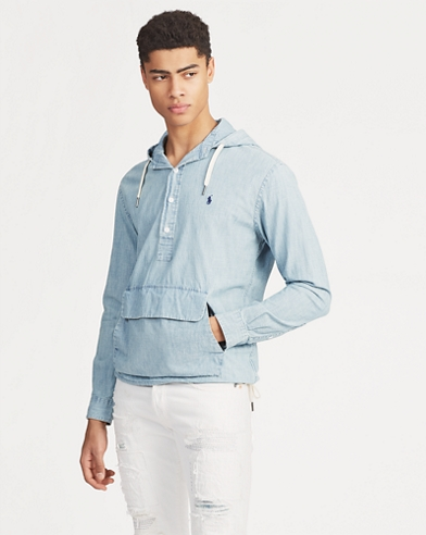 Chambray Hooded Popover