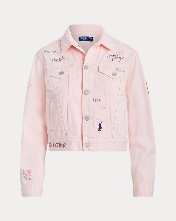 Veste denim Pink Pony