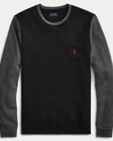 Waffle-Knit Sleep Shirt