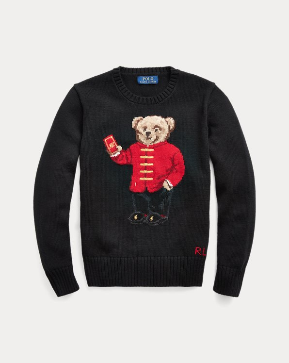 Pullover Lunar New Year mit Bear