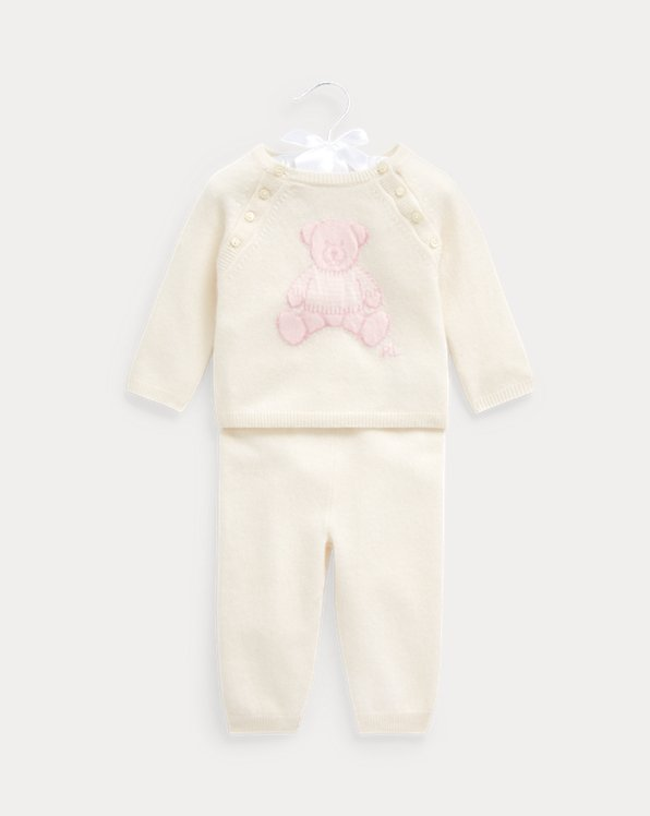 Bear Cashmere Top & Pant Set
