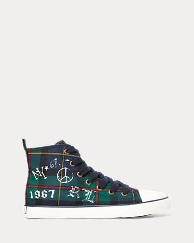 Hamptyn Canvas Hi-Top Sneaker
