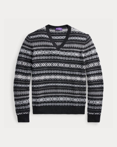 Fair Isle Cashmere Sweater