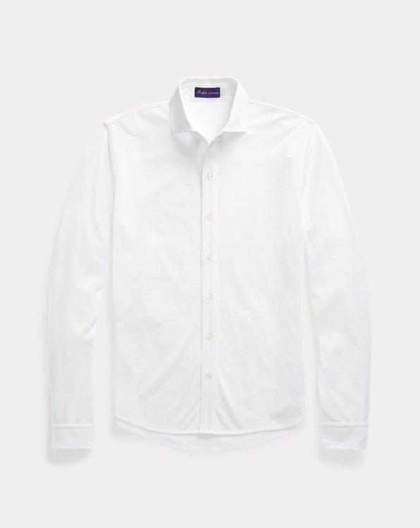 Keaton Washed Piqué Shirt