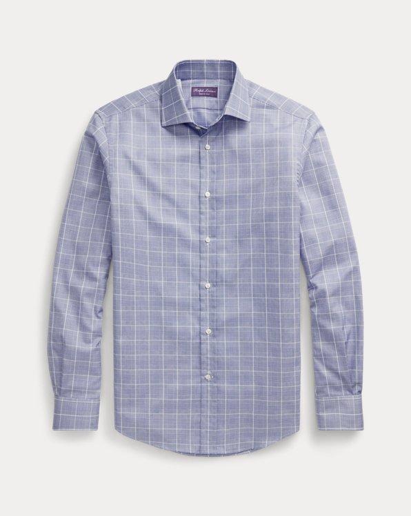 Glen Plaid Twill Shirt