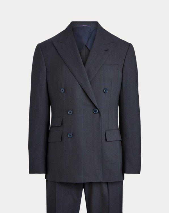 Kent Glen Plaid Twill Suit