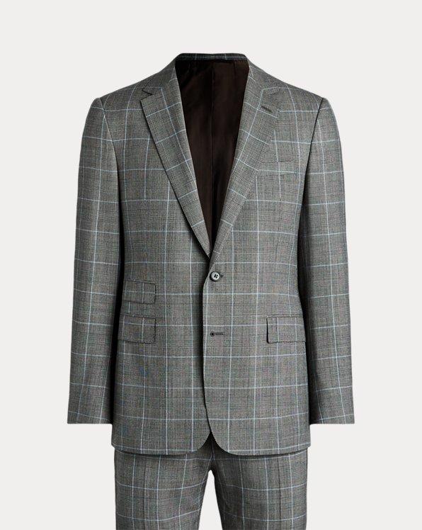 Gregory Handmade Plaid Suit