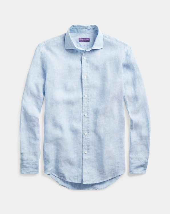 Hemd aus Leinenchambray