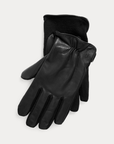 Hybrid Nappa Leather Gloves