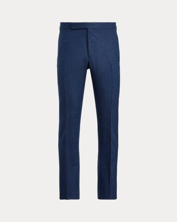 Pantaloni Gregory in flanella di lana