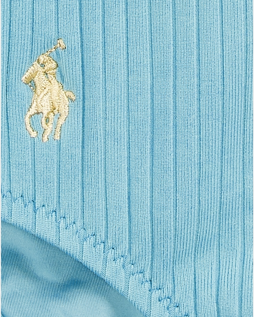Polo Ralph Lauren Ribbed Scoopback One-Piece 5