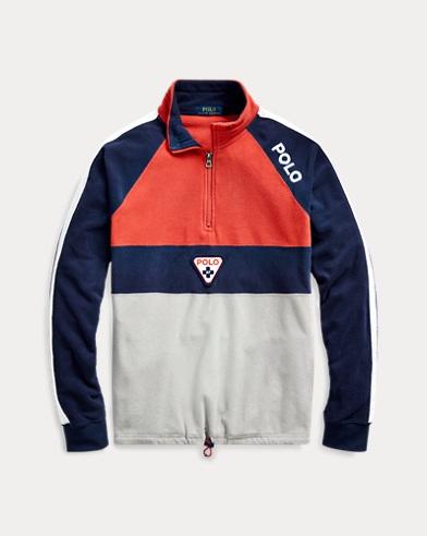 Polo Shield Fleece Sweatshirt