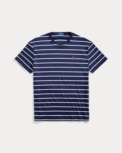 폴로 랄프로렌 Polo Ralph Lauren Classic Soft Cotton T-Shirt,French Navy/White