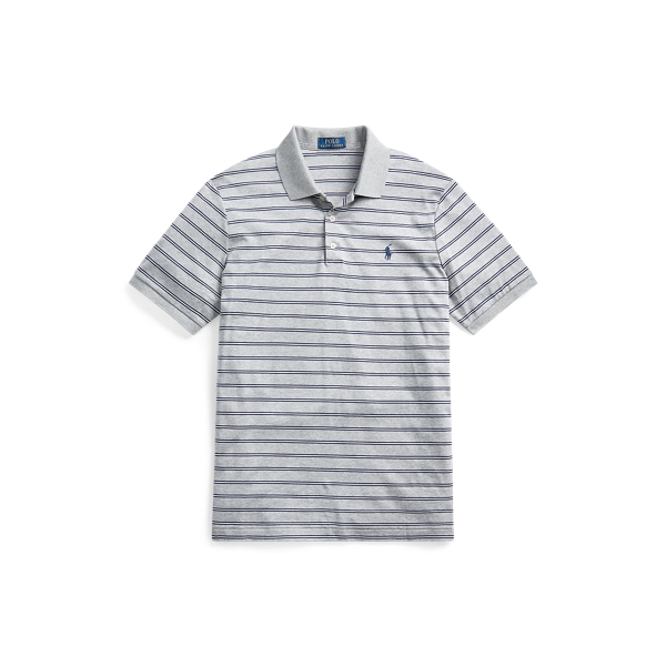 폴로 랄프로렌 Polo Ralph Lauren Classic Fit Soft Cotton Polo,Andover Heather Multi