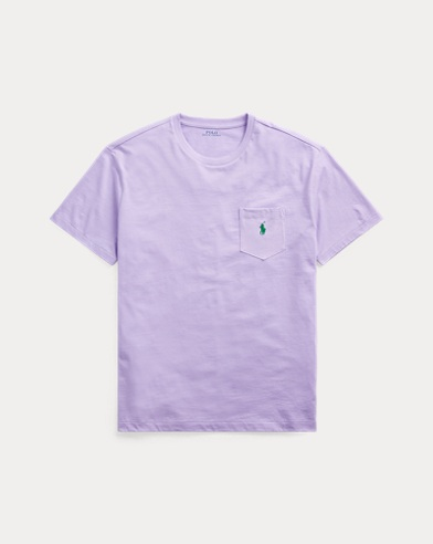 폴로 랄프로렌 Polo Ralph Lauren Classic Fit Pocket T-Shirt,English Lavender
