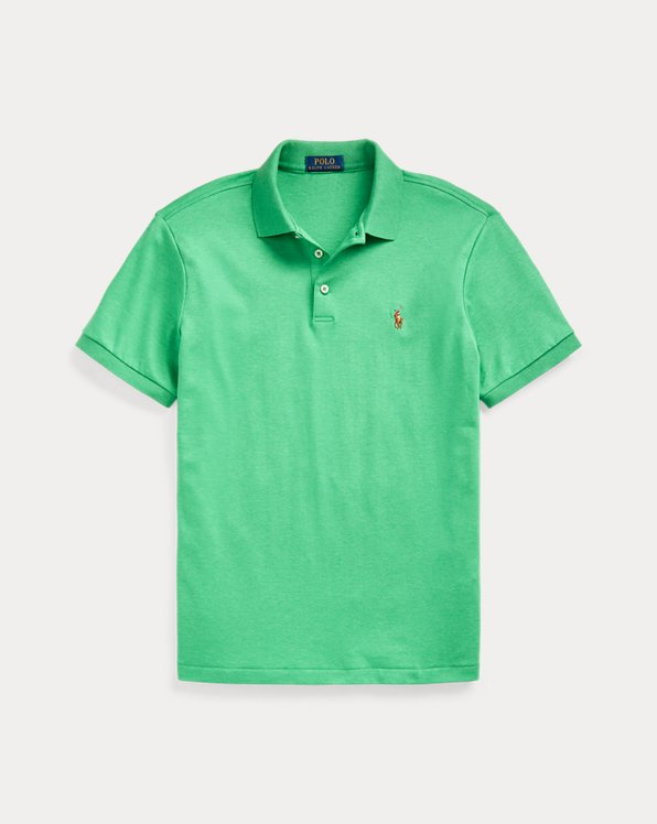 Green Multi, X-Large Polo Ralph Lauren Mens Iconic Rugby Short Sleeve Polo Shirt