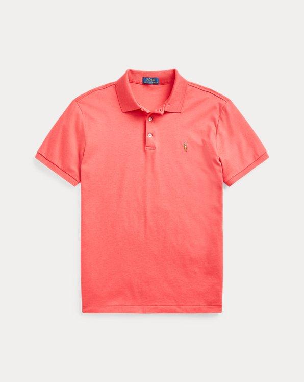 Interlock-Polohemd im Custom Slim Fit