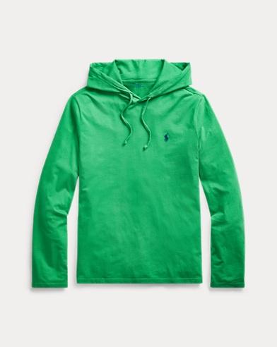 폴로 랄프로렌 Polo Ralph Lauren Cotton Jersey Hooded T-Shirt,Golf Green