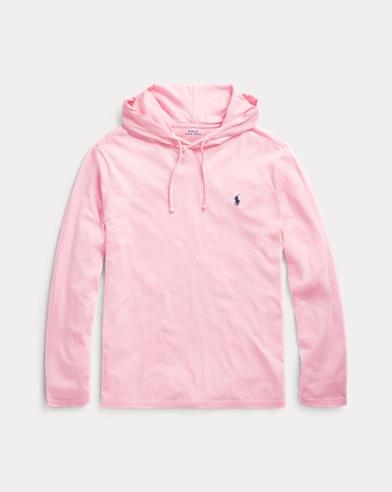 폴로 랄프로렌 Polo Ralph Lauren Cotton Jersey Hooded T-Shirt,Taylor Rose