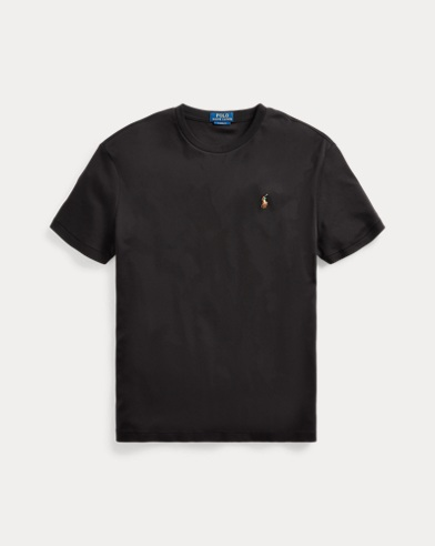폴로 랄프로렌 Polo Ralph Lauren Classic Soft Cotton T-Shirt,Polo Black