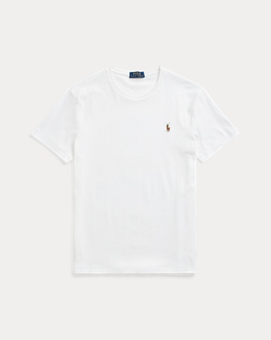 폴로 랄프로렌 Polo Ralph Lauren Classic Soft Cotton T-Shirt,White