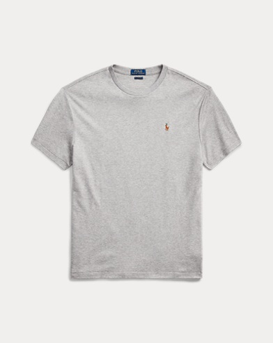 폴로 랄프로렌 Polo Ralph Lauren Classic Soft Cotton T-Shirt,Andover Heather