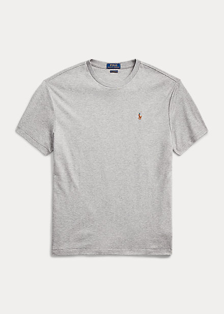 Polo Ralph Lauren Classic Fit Soft Cotton Crewneck T-Shirt