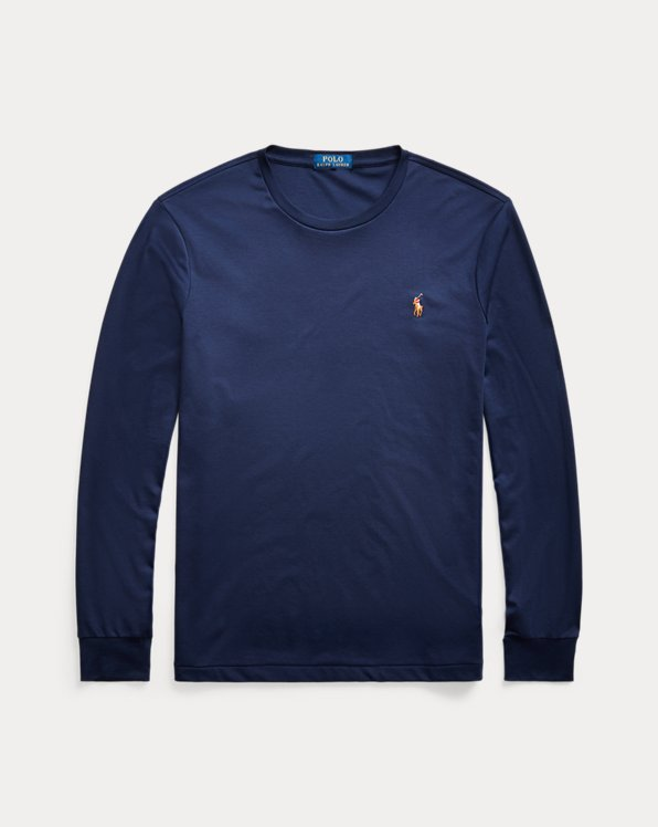 Custom-Slim-Fit Baumwoll-T-Shirt