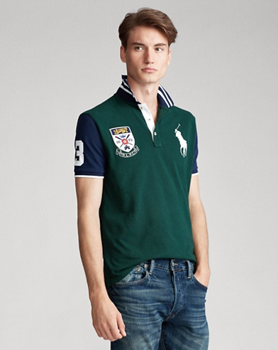 Rowing-Crest Big Pony Polo Shirt - All Fits