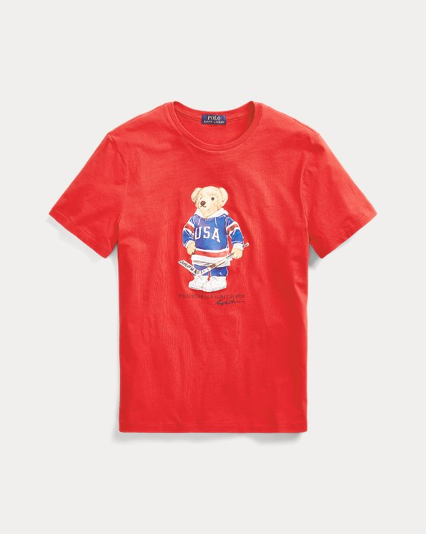 Camiseta Custom Slim Fit con Polo Bear