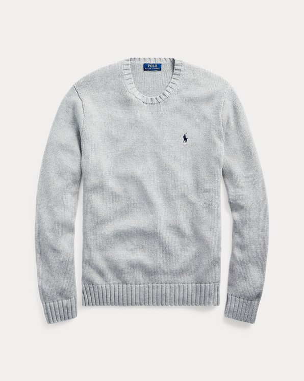Iconic Cotton Crewneck Jumper