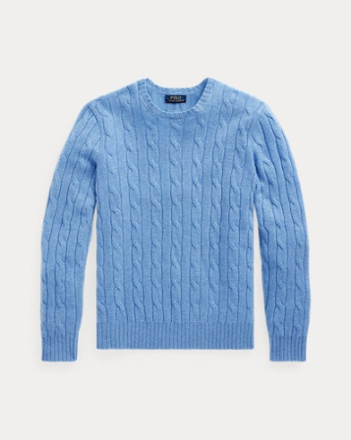 Cable-knitted Cashmere Jumper
