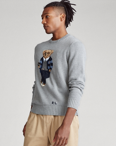 Polo Bear Cotton Jumper
