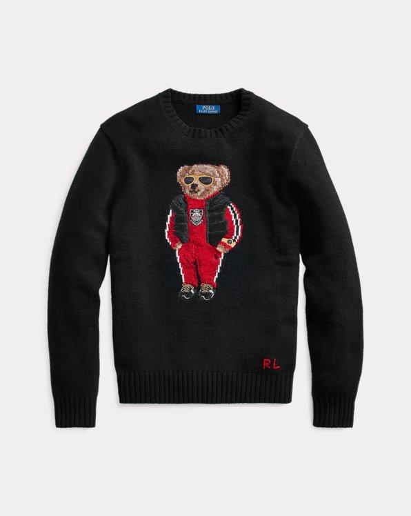 Lunar New Year Bear Sweater