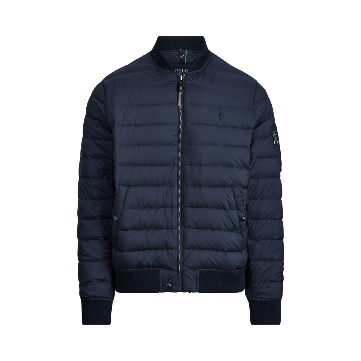 Packable Quilted Bomber Jacket