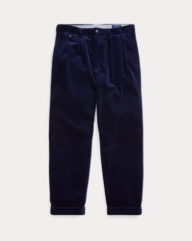 Pleated Baggy Corduroy Pant