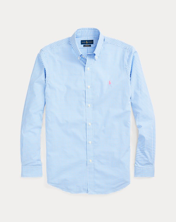 Plaid Poplin Shirt - All Fits