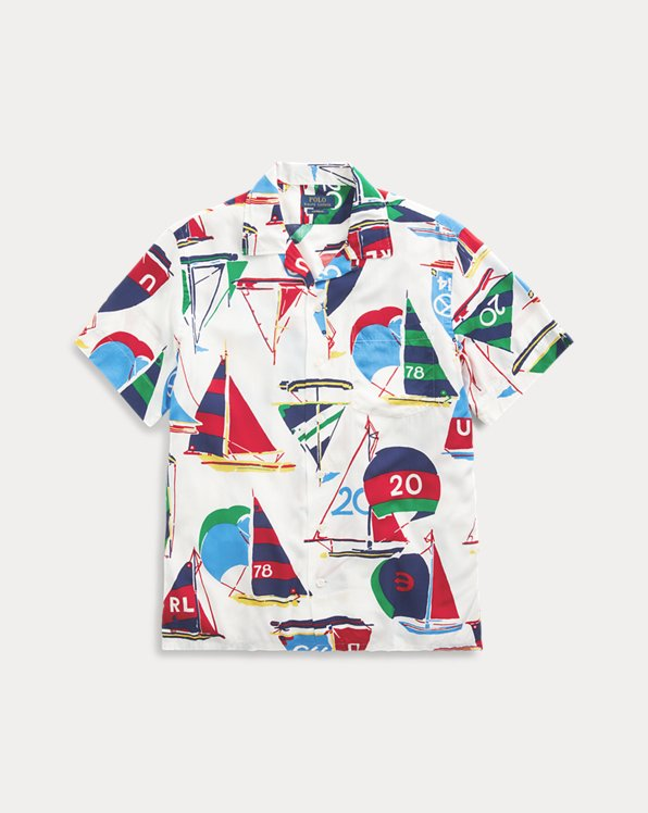 Custom Fit Sailboat Shirt