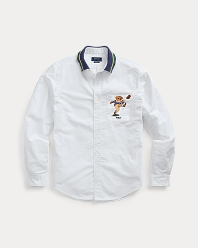 Classic Fit Kicker Bear Shirt