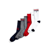 Deals on 6-Pack Ralph Lauren Polo Crew Sock