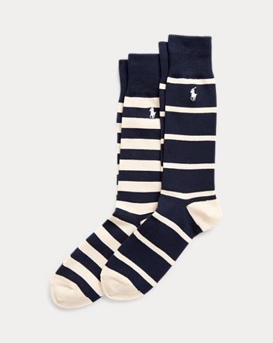 Striped Dress Sock 2-Pack