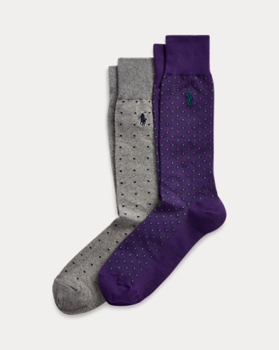 Patterned Dress Sock 2-Pack