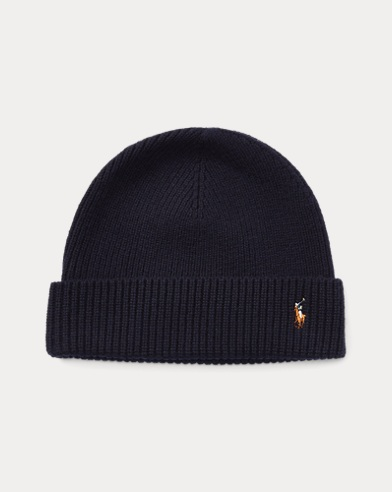 Signature Pony Wool-Blend Hat