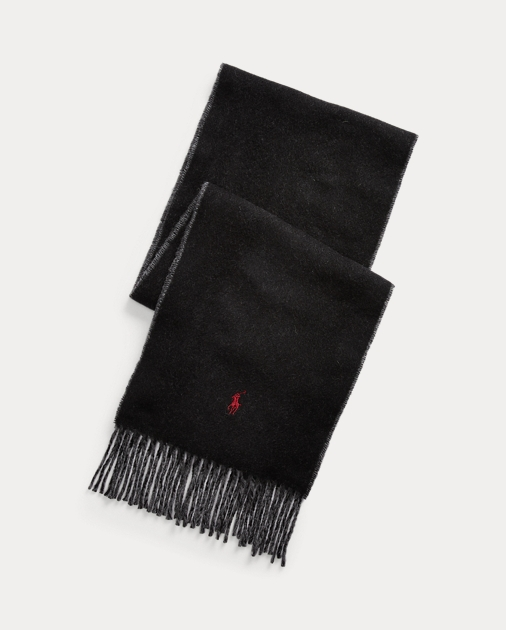 Polo Ralph Lauren Reversible Wool-Blend Scarf 1